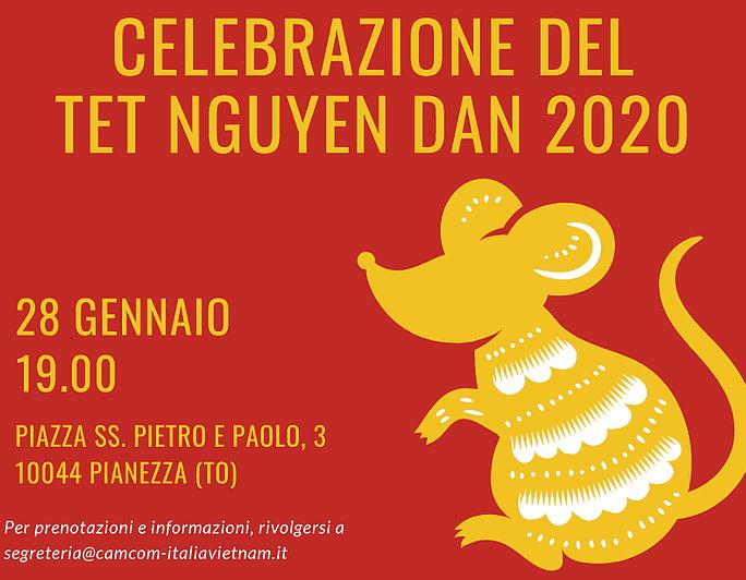 Il TET NGUYEN DAN 2020 in Piemonte